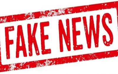 Rappel : Gare aux fake news !