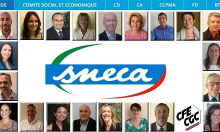 Les élus et représentants SNECA CFE-CGC